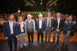 Cumbre en Pilar de los candidatos de Consenso Federal con Lavagna y Urtubey