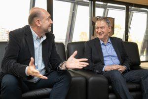 Schiaretti y Perotti con agenda de «interés común» entre ambas provincias