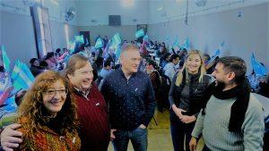 Con un locro patrio, los candidatos de Consenso Federal Córdoba arrancaron la campaña