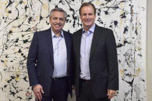 Fernández se reunió con los gobernadores Rodríguez Saá y Bordet para reforzar «la unidad del peronismo