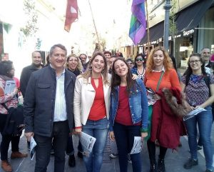 Castañeira encabeza campaña anticapitalista por el interior del país