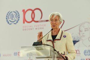 Lagarde se aleja del FMI para hacerse cargo de la conducción del Banco Central Europeo