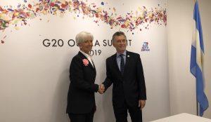 Según Hacienda, la renuncia de Lagarde no cambiará el acuerdo ni la relación con el FMI