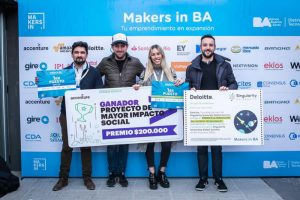 Los ganadores de Makers in BA, emprendedores con proyectos en expansión