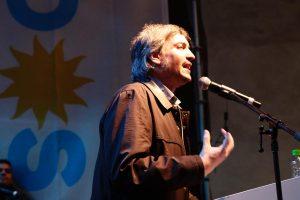 «Nos van a querer hacer trampa», advirtió Máximo Kirchner sobre el escrutinio