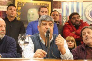 Con un documento que contiene 16 reclamos al Gobierno, Pablo Moyano volvió a rechazar las reformas laboral y previsional