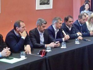 Junto a dirigentes macristas, Peña delineó la campaña cordobesa que incluye tres visitas de Macri