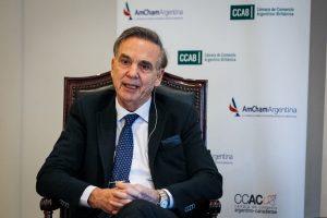 Pichetto insistió en que la elección presidencial se define en primera vuelta
