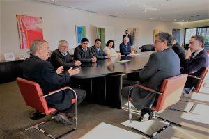 La Provincia avanza con la CAF en posibles financiamientos de obras públicas