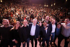 Apoyo explícito a Alberto Fernández de peronistas cordobeses con Caserio a la cabeza