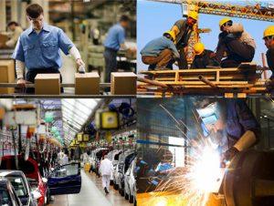La actividad industrial bajó 6,9% en junio