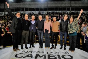 Desde territorio bonaerense junto a Vidal, Macri pidió el voto para «no volver al pasado»