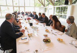 Senadores oficialistas vieron a Macri «muy optimista» de cara a octubre