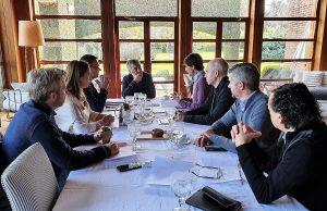 Macri recibió al designado ministro Hernán Lacunza en una reunión ampliada