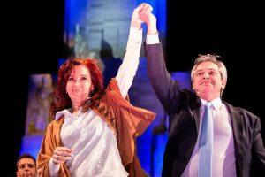 """Junto a Cristina, Fernández se comprometió «a recuperar el trabajo y volver a abrir las fábricas"""""""