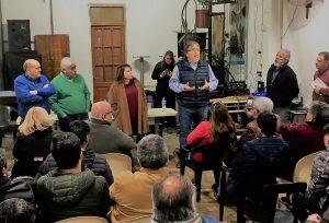 El riutorismo se sumó a la campaña de la fórmula Fernández-Fernández