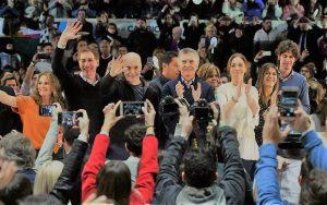 """Junto a Larreta y Vidal, Macri sentenció: """"no hay futuro en el pasado"""""""