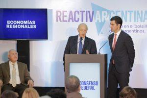 Con el foco puesto en la reactivación, Lavagna y Urtubey proponen subir salarios y modificar impuestos