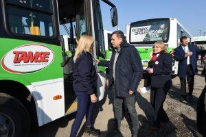 El municipio volvió a destinar fondos ($27 M) al transporte para evitar suba del boleto