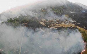 Trece bomberos cordobeses viajan a combatir el fuego en la Amazonia