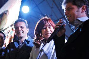 En el tramo final de la campaña, CFK se mostró con Massa y disparó duro contra el Gobierno macrista