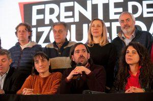 Del Caño pidió un paro de la CGT para «frenar el golpe de mercado» y abrir el Congreso para discutir medidas