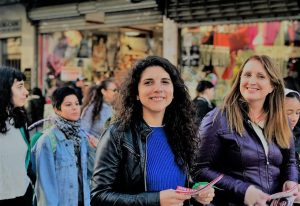 En campaña, Fierro advirtió que toda la lista del FIT Unidad «defiende los derechos de género»
