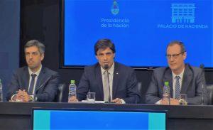 Los técnicos del FMI se reunieron con Lacunza y Sandleris