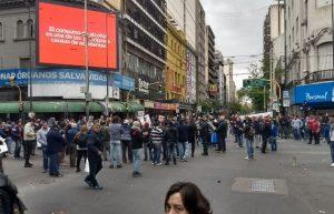 El sector comercial advirtió que las protestas de hoy perjudicaron nuevamente el desarrollo de la actividad