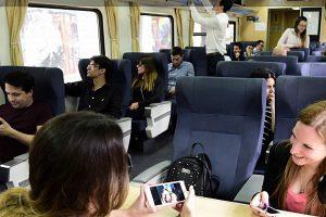 Un 40% más de pasajeros viajaron en los servicios de larga distancia