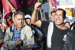 Ante la protesta «combativa» de este jueves, Pitrola llamó a «ganar la calle»
