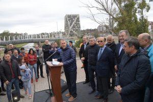 Nuevo puente: Schiaretti valoró la culminación de la obra «en épocas de grave crisis»
