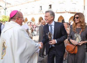 Macri dijo que fue a Salta para «rezar como uno más por el futuro de todos los argentinos»