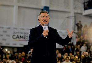 Macri relanza su campaña con la primera marcha del #SíSePuede