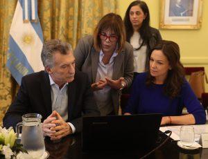 Macri afirmó que el «futuro» se construye  «integrados al mundo, y no aislados»