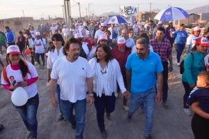 """Metido de lleno en la campaña, Sáenz prometió gestionar «para que crezcamos todos los salteños"""""""