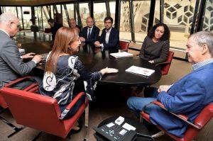 Schiaretti recibió a especialista en política urbana de la OCDE