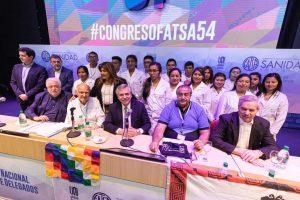 Rechazo a la reforma laboral y renegociar la deuda, dos claves de la visita de Alberto F. a Córdoba