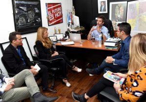Modernización y recursos humanos, los temas de las primeras reuniones de la «transición abierta»