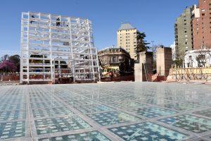 Avanza la obra del Centro de Exposiciones de Plaza España