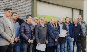 Intendentes le reclaman a Vidal que declare la emergencia alimentaria