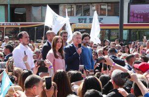"""En clave electoral, Macri afirmó que tiene «la energía y las ganas» para «seguir construyendo la Argentina que nos merecemos"""""""
