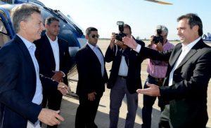 Macri llega a Córdoba y comparte escenario con Mestre