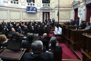 Este lunes ingresa el proyecto de «reperfilamiento» de la deuda y el Senado se prepara para la discusión