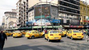 Se intensifica el conflicto: protestas y paro de taxis en rechazo a Uber