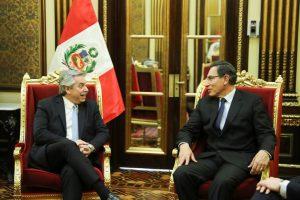 Alberto F. espera tener una relación de «respeto y madurez» con los Estados Unidos
