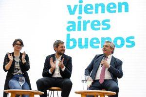 Alberto F. con agenda de campaña en CABA: se mostró con Lammens y se reunió con curas villeros