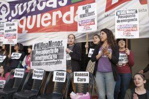 Por los nuevos casos de femicidio, la Izquierda reclamó por un «presupuesto de emergencia ya»