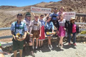 Turistas disfrutaron de la primera edición del «Oktoberfest de las Nubes»