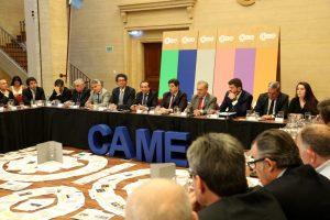 Sica llevó la «agenda de desarrollo productivo» al Consejo Directivo de CAME